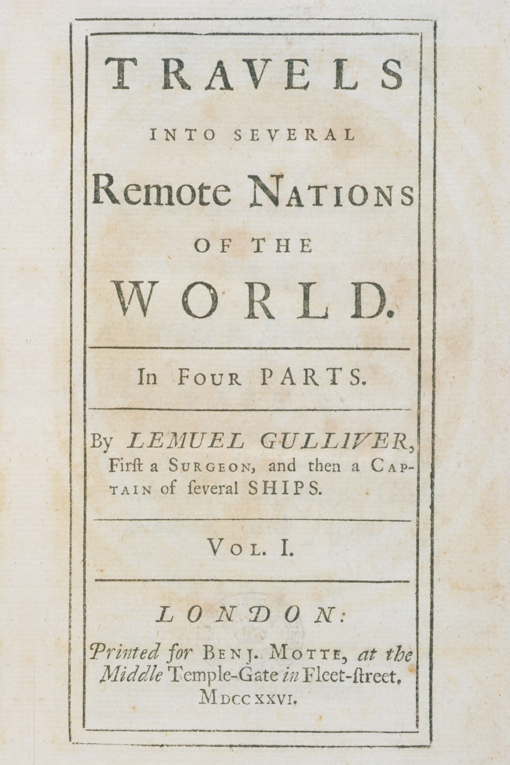 a review of gullivers travels by jonathan swift The gulliver's travels by jonathan swift the novel begins with gulliver telling the story of his life essay about gulliver: jonathan swift and old style english a review of a modest proposal by jonathan swift essay.