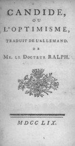 VoltaireCandide